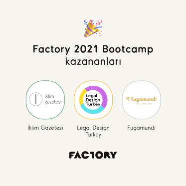 Factory 2021 Bootcamp kazananları belli oldu!